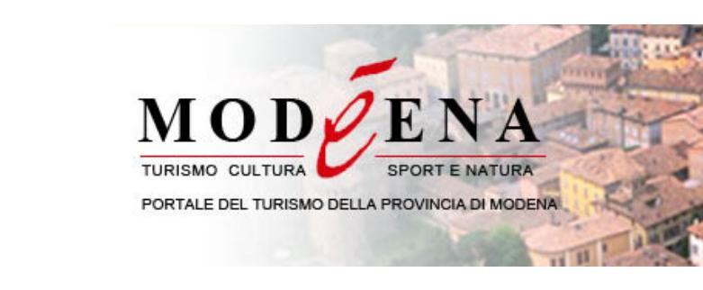 Portale del Turismo della Provincia di Modena