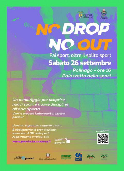 No drop No Out - locandina